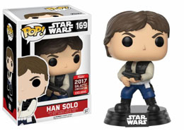 STAR WARS CELEBRATION FUNKO POP HAN SOLOSWC