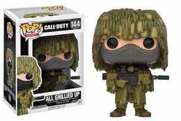 CALL OF DUTY FUNKO POP ALL GHILLIED UP