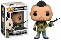 CALL OF DUTY FUNKO POP JOHN SOAP MACTAVISH