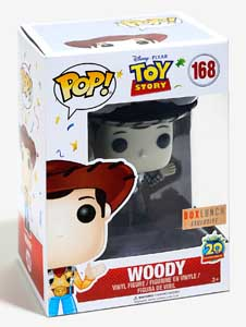 TOY STORY FIGURINE FUNKO POP 20TH ANNIVERSARY WOODY (BLACK & WHITE)