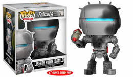 FUNKO POP FALLOUT 4 LIBERTY PRIME 'DAMAGED' OVERSIZED LIMITED EDITION