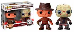 HORROR CLASSICS PACK 2 FIGURINES FUNKO POP BLOODY JASON & FREDDY