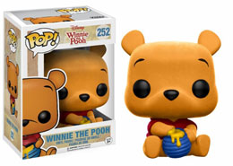FUNKO POP WINNIE L'OURSON EDITION LIMITEE FLOCKED