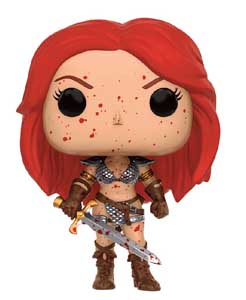 FUNKO POP CONAN LE BARBARE FIGURINE RED SONJA (BLOODY)