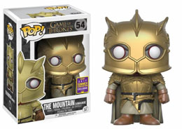 SDCC 2017 FUNKO POP THE MOUNTAIN WITH GOLD EXCLUSIVE - GAME OF THRONES
