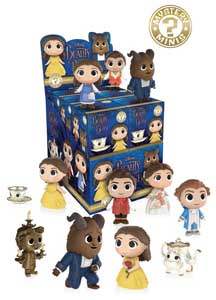 MYSTERY MINI LA BELLE ET LA BETE 12 FIGURINES + PRESENTOIR
