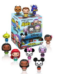 DISNEY PINT SIZE HEROES 24 FIGURINES + PRESENTOIR