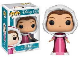 FUNKO POP LA BELLE ET LA BETE FIGURINE WINTER BELLE