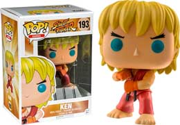 FUNKO POP STREET FIGHTER KEN SPECIAL ATTACK