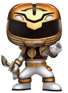 POWER RANGERS FIGURINE FUNKO POP WHITE RANGER