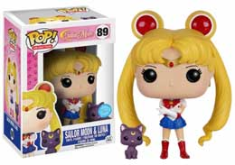 SAILOR MOON FUNKO POP! SAILOR MOON & LUNA (GLITTER)