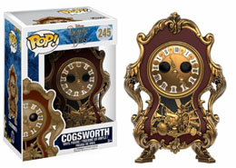DISNEY FUNKO POP LA BELLE ET LA BETE FIGURINE COGSWORTH