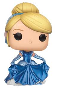 DISNEY FUNKO POP EXCLUSIVE CINDERELLA METALLIC