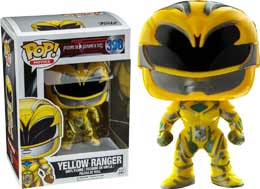 FIGURINE POP POWER RANGERS MOVIES YELLOW RANGER
