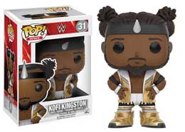 WWE WRESTLING FUNKO POP WWE KOFI KINGSTON