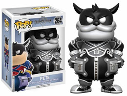 KINGDOM HEARTS FIGURINE POP! DISNEY VINYL PETE (B&W)