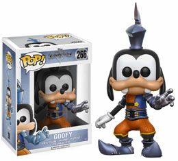 KINGDOM HEARTS FIGURINE POP! DISNEY VINYL GOOFY (ARMOURED)