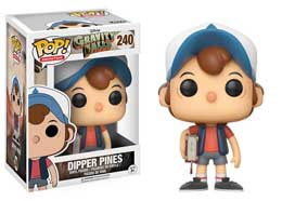 Photo du produit SOUVENIRS DE GRAVITY FALLS FIGURINE FUNKO POP DIPPER PINES