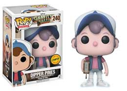 Photo du produit SOUVENIRS DE GRAVITY FALLS FIGURINE FUNKO POP DIPPER PINES Photo 1