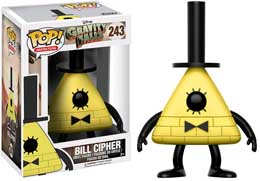FIGURINE FUNKO POP GRAVITY FALLS BILL CIPHER