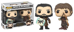 Photo du produit PACK FUNKO POP JON SNOW AND RAMSAY BOLTON GAME OF THRONES
