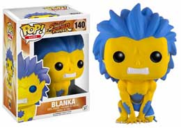POP STREET FIGHTER BLANKA YELLOW LIMITED EDITION