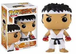 POP STREET FIGHTER RYU WHITE HEADBAND
