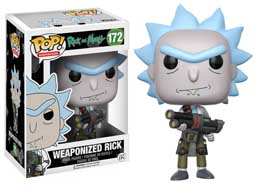 RICK & MORTY FUNKO POP WEAPONIZED RICK