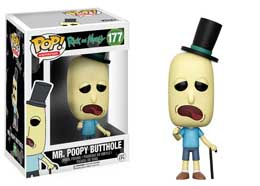 RICK & MORTY FUNKO POP MR. POOPY BUTTHOLE