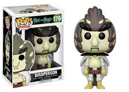 RICK & MORTY FUNKO POP BIRDPERSON