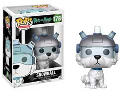 RICK & MORTY FUNKO POP SNOWBALL