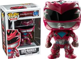 FIGURINE POP POWER RANGERS MOVIES RED RANGER