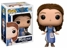 LA BELLE ET LA BETE FUNKO POP VILLAGE BELLE