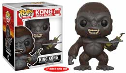 FIGURINE FUNKO POP KING KONG SKULL ISLAND OVERSIZED
