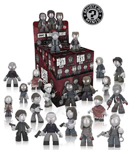 THE WALKING DEAD 12 FIGURINES MYSTERY MINI 5 CM + PRESENTOIR