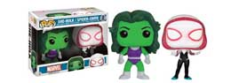 MARVEL COMICS PACK 2 POP SHE-HULK & SPIDER-GWEN