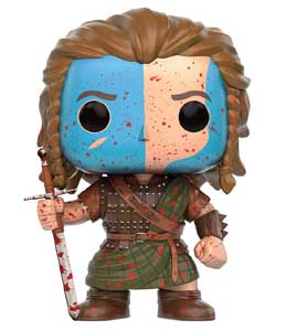 BRAVEHEART FUNKO POP EXCLUSIVE WILLIAM WALLACE BLOODY