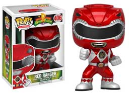 POWER RANGERS FUNKO POP RED RANGER METALLIC LIMITED