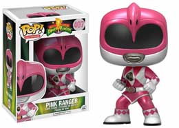 POWER RANGERS FIGURINE FUNKO POP PINK RANGER METALLIC LIMITED