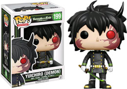 FUNKO POP SERAPH OF THE END LIMITED EDITION YUICHIRO DEMON (Emballage endommagé)