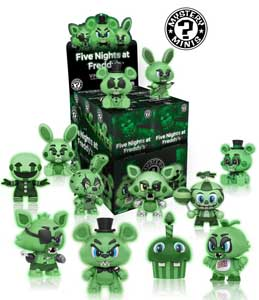 FIVE NIGHTS AT FREDDY'S 12 FIGURINES FUNKO MYSTERY MINIS GITD