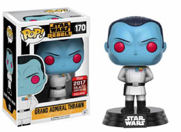 STAR WARS CELEBRATION FUNKO POP GRAND ADMIRAL THRAWN