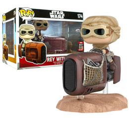 FUNKO POP REY WITH SPEEDER STAR WARS EP VII