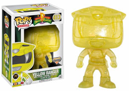 POWER RANGERS TELEPORTING RANGERS LIMITED EDITION YELLOW RANGER
