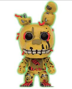 FIVE NIGHTS AT FREDDY'S FUNKO POP SPRINGTRAP GITD