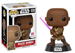 FUNKO POP STAR WARS BOBBLE HEAD MACE WINDU