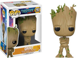 LES GARDIENS DE LA GALAXIE FUNKO POP TEENAGE GROOT EXCLUSIVE