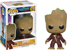 FUNKO POP YOUNG GROOT IN SUIT (ANGRY) LES GARDIENS DE LA GALAXIE VOL. 2