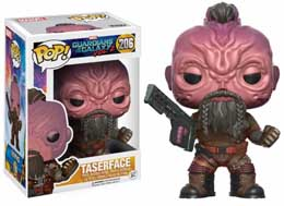 FIGURINE FUNKO POP TASERFACE LES GARDIENS DE LA GALAXIE VOL.2