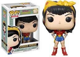 Photo du produit DC COMICS FUNKO POP BOMBSHELL WONDER WOMAN